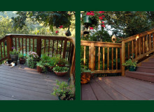 Outdoor Decking Construction