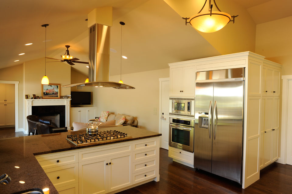 Remodeled kitchen with all new professional appliances kitchen view